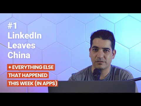 LinkedIn Leaves China, TikTok Hits a Milestone, and More  | This Week in Apps thumbnail