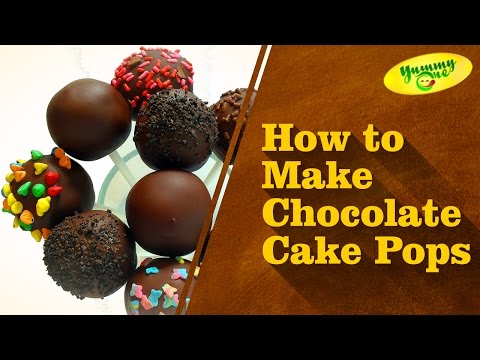 How To Make Chocolate Cake Pops | Yummy One || Telugu Recipes || Indian Recipes