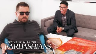 Scott Disick Is Shocked By How Much Khloes Art Is Worth | KUWTK | E!