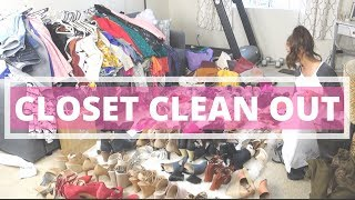 CLOSET MAKEOVER | HOW TO: REORGANIZE & CLEAN OUT YOUR CLOSET!