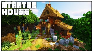 how to build a starter house in minecraft survival mode - TH