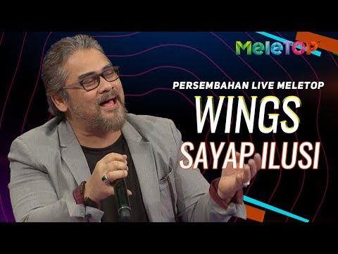 Wings - Sayap Ilusi | Persembahan Live MeleTOP | Nabil & Neelofa