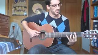 Estopa - Tragicomedia (cover con guitarra)