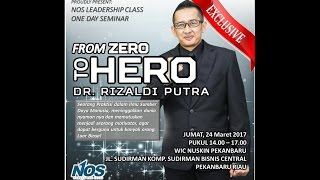 Dr. Rizaldi Putra - Motivator Indonesia Terbaik - Leadership Class