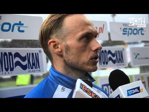 Wideo relacja z meczu Stomil Olsztyn - Chrobry Głogów