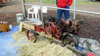 Mini hay baling machine