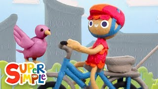10 Little Bicycles | Kids Songs | Super Simple Songs
