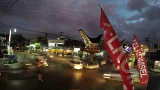 preview picture of video 'Rantepao dalam 1 menit: Bundaran Rantepao'
