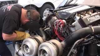 3000+ hp Twin Turbo CADILLAC vs 3000+ hp Twin Turbo CORVETTE
