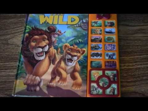 DISNEY'S THE WILD PLAY-A-SOUND STORY BOOK KIDS TOY