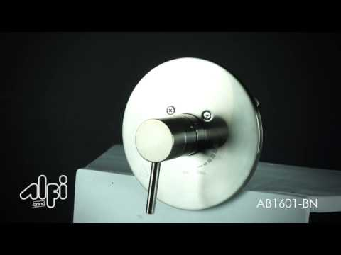 Video for Polished Chrome Pressure Balanced Round Shower Mixer