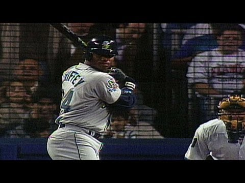 e62ed7357d 1995 ALDS Gm1 Ken Griffey Jr blasts two home runs play