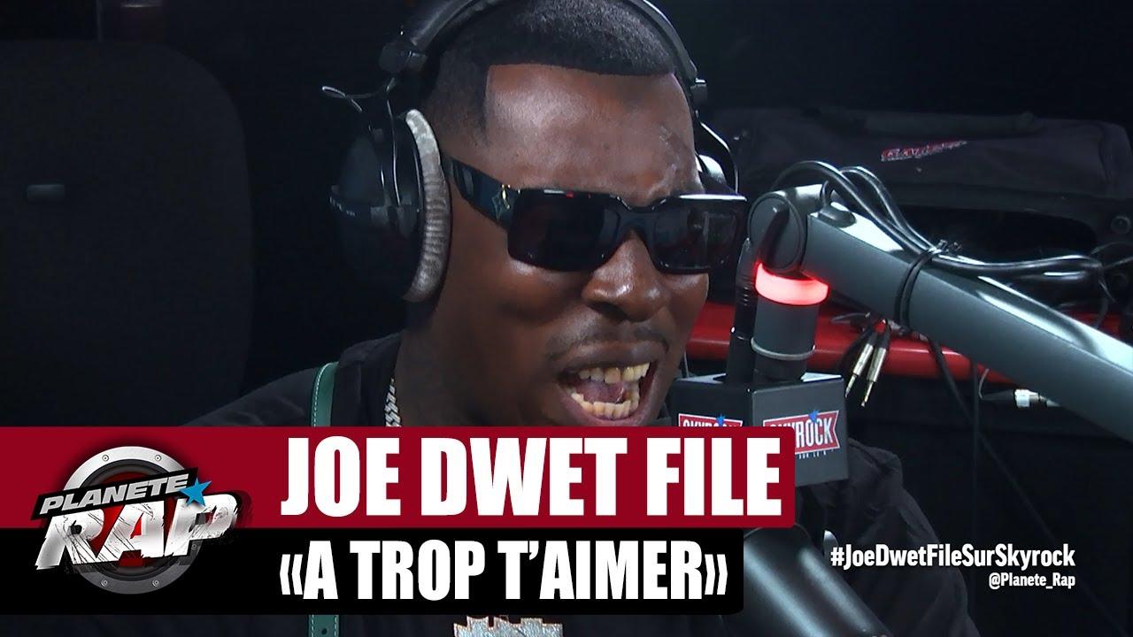 """Joé Dwèt Filé """"À trop t'aimer"""" #PlanèteRap"""