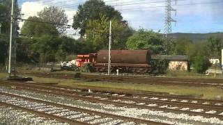 preview picture of video 'Trayecto Hendaya a Irún a bordo de un TGV'