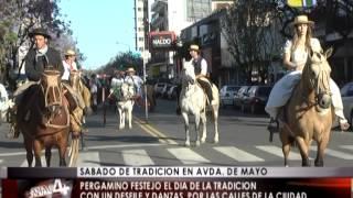 preview picture of video 'Pergamino celebró el Día de la Tradición'