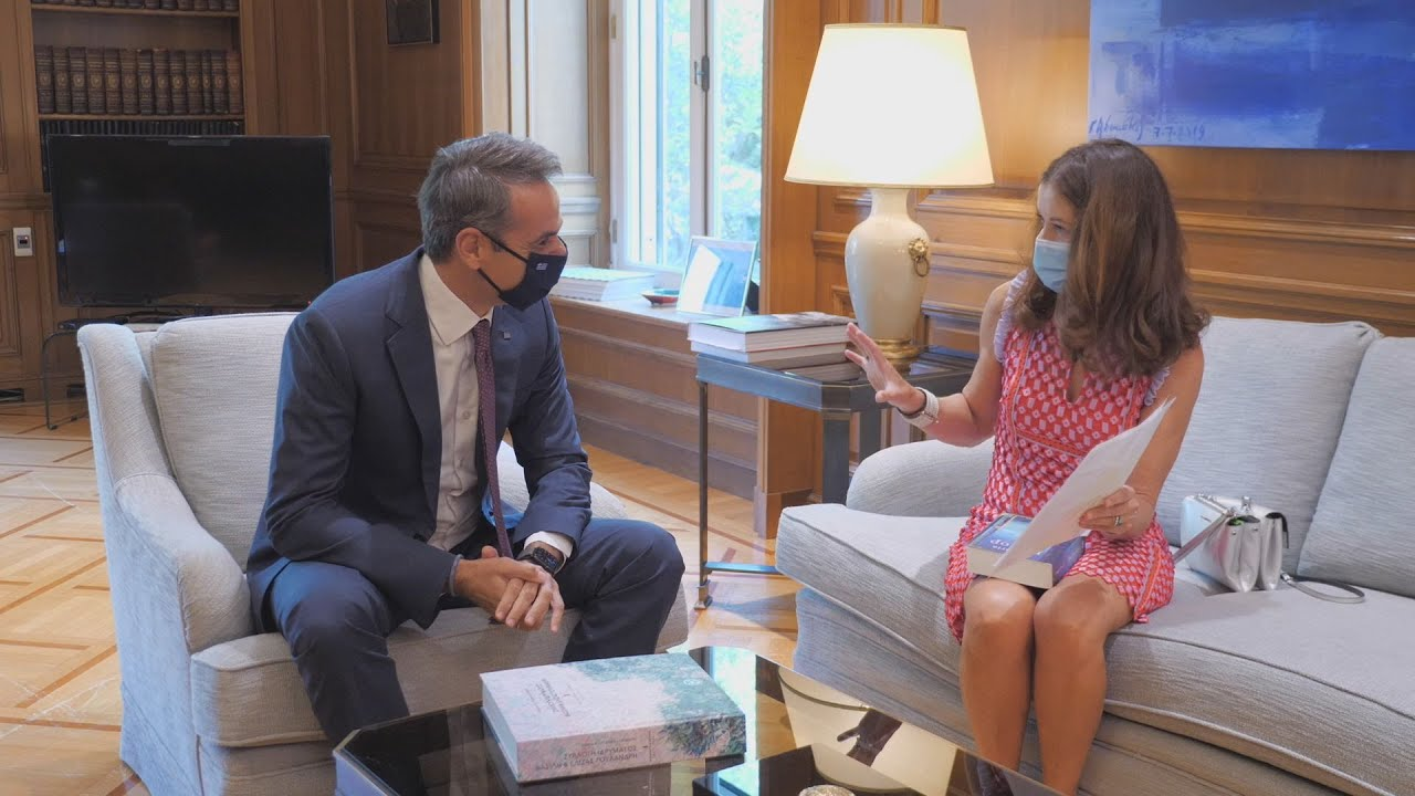 Συνάντηση του Πρωθυπουργού  με την Victoria Hislop