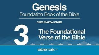 The Foundational Verse of the Bible