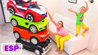 Vlad y Nikita y cuentos infantiles sobre autos