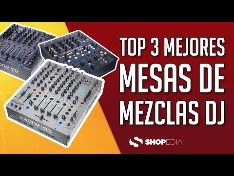 🏆 TOP 3 MEJORES MESAS DE MEZCLAS DJ 2021 ( COMPARACIÓN Y OPINIONES )