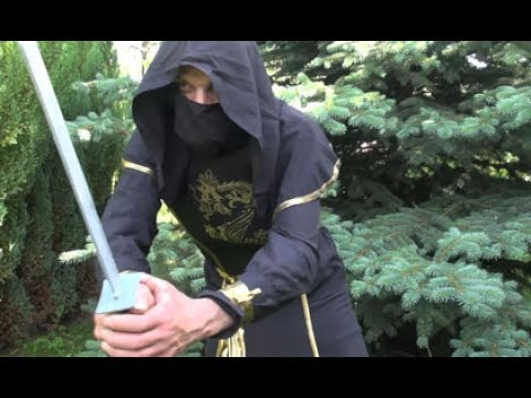 Adult Male Ninja Warrior Costume Video Review