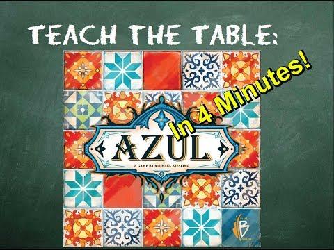 How to play Azul - Teach The Table