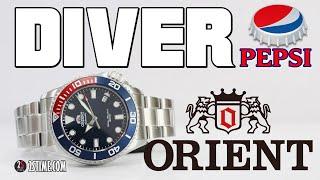 ORIENT Diver RA-AC0K03L PEPSI Bezel   The NEW Iconic Watch Under 300