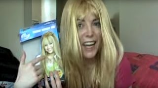 Hannah Montana - How to Look Nothing Like a Pop Star - Wig Fail!