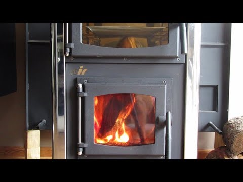 Concept 2 Air Mini Wood Cookstove - First Burn