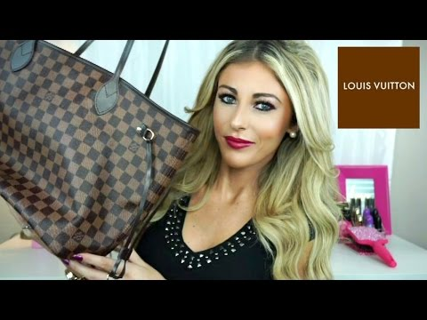 Louis Vuitton Damier Ebene Neverfull MM Unboxing/Review