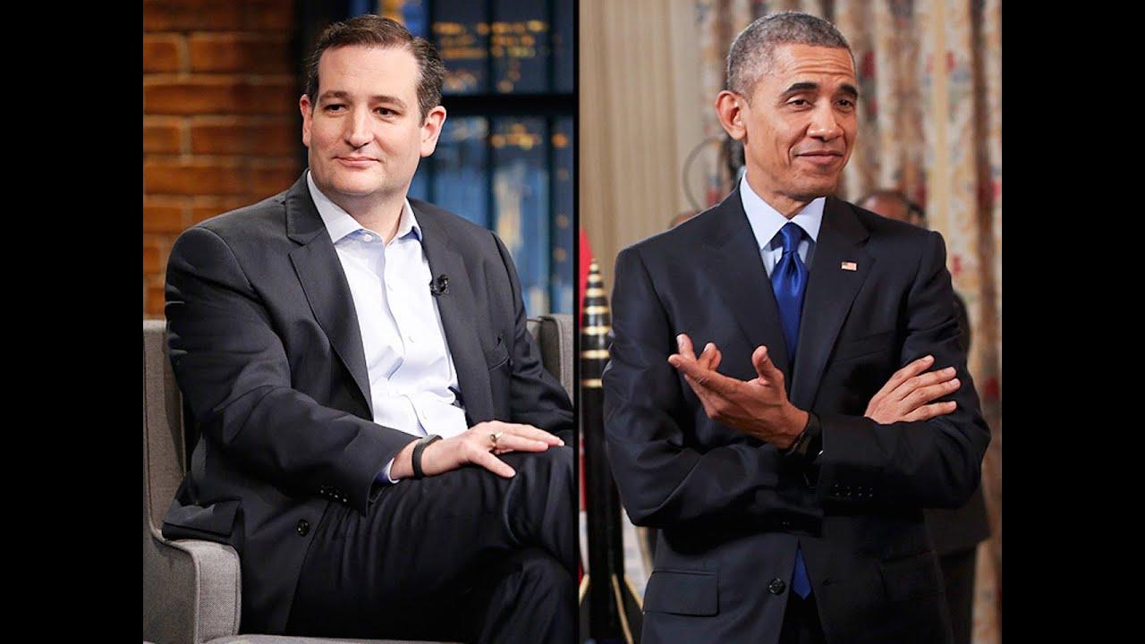 Ted Cruz Blames Obama For Police Shooting thumbnail