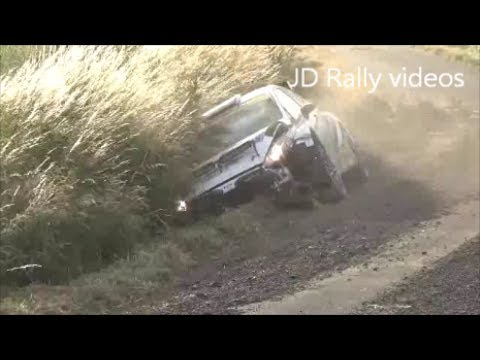 Ypres rally 2017 crash Thierry Neuville and Alex Laffey