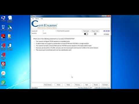 Cisco CCNP Switch 300-115 Exam Simulator by CertExams ...