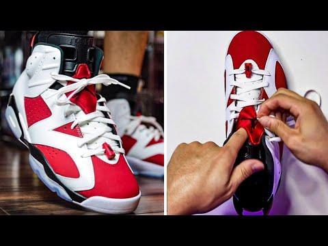 5 EASY Ways How To Lace Air Jordan 6 (Tutorial)