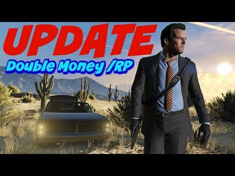 GTA 5 Weekly Update ***NEW GUNS & DOUBLE MONEY & RP***