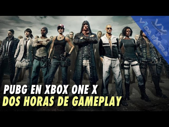 PUBG en Xbox One X - Dos horas de gameplay
