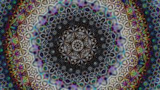 FRACTAL FLOWER OF LIFE SACRED GEOMETRY THETA DELTA BINAURAL BEAT MEDITATION 4HZ