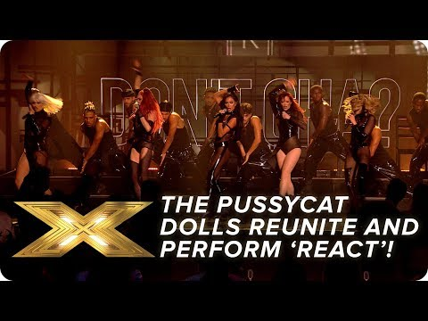 Download The Pussycat Dolls REUNITE and perform new song 'React'! | Final | X Factor: Celebrity HD Mp4 3GP Video and MP3