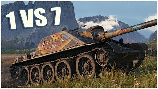 SU-122-44 • NEVER GIVE UP • WoT Gameplay