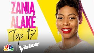 "Zania Alaké Sings Ariana Grande's ""Dangerous Woman"" - The Voice Live Top 17 Performances 2021"