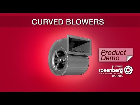 140 Series Double Inlet Blower