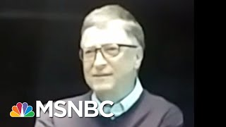Bill Gates Dishes About President Donald Trump Meetings In Exclusive Video | All In | MSNBC - Video Youtube
