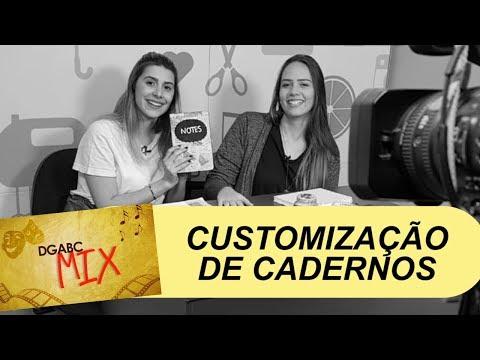 Volta às aulas: DGABC Mix ensina customização de caderno