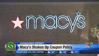 Macy's shakes up coupon policy