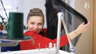 Смотреть онлайн Как сшить платье из сетки на швейной машинке