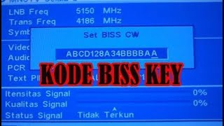 Video Search Result for cara setting biss key