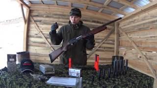 МР-156. Отстрел на РЕЗКОСТЬ. ТЕСТ дульных насадок- удлинитель ствола 50мм и 150мм. МР 156 625мм