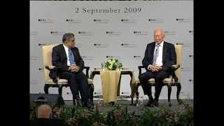 LKY School 5th anniversary Q&A session with Mr Lee Kuan Yew