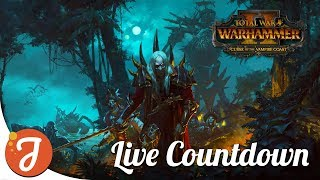 ALL LORD STARTS & STRATS #2 Live Countdown To Launch! | Vampire Coast DLC | Total War: WARHAMMER II