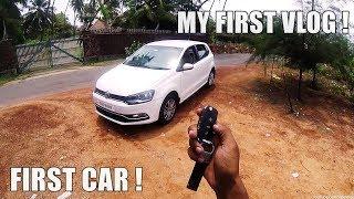MY FIRST CAR & MY FIRST VLOG ! Vlog #1