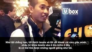 Nguyen Minh Thao's UBox at TechCrunch Disrupt SF 2013